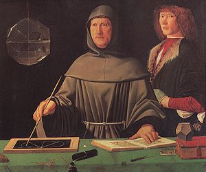 Luca Pacioli invented double ledger accounting and bookkeeping