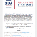 PPP Updates for Your Small Business